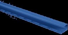 """Планка """"J - trim"""" Синяя Т-15 - 3,00м"""