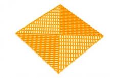 Решётка с дополнительным обрамлением, цвет Жёлтая