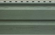 Акриловый сайдинг Kanada Плюс Премиум Зелёный, 3,66м